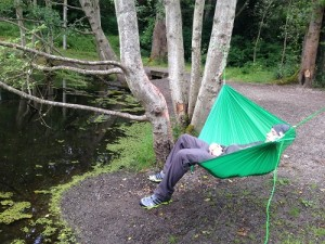 Hummingbird Hammock Single Person Hammock In Use