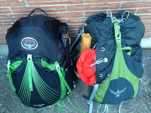 Osprey Exos 48 Backpack with Flapjacket Lid and Pocket