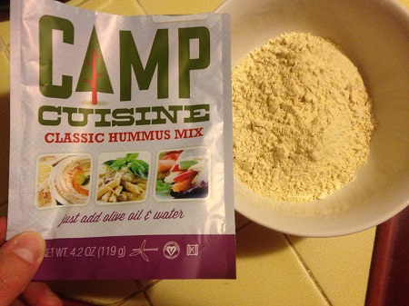 Harmony Valley Camp Cuisine Powdered Hummus Mix