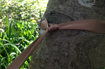 Hummingbird Hammocks Tree Straps - How they attach to the tree