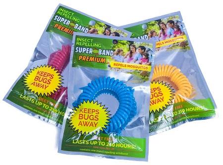 Superband Premium Insect Repellent Bracelet